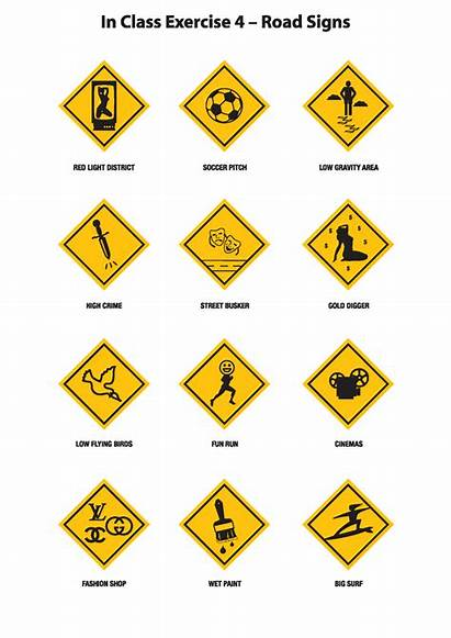 Road Missouri Dmv Signs Chart Test Funny