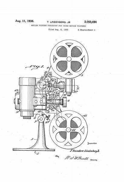 Patent Projector Cinema Film Drawing Motion Google