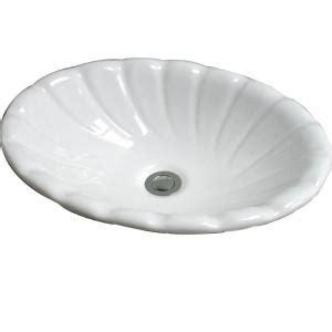 pegasus corona drop in bathroom sink in white 4 465wh