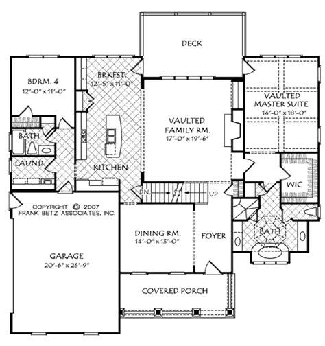 frank betz basement floor plans mackinaw c house floor plan frank betz associates