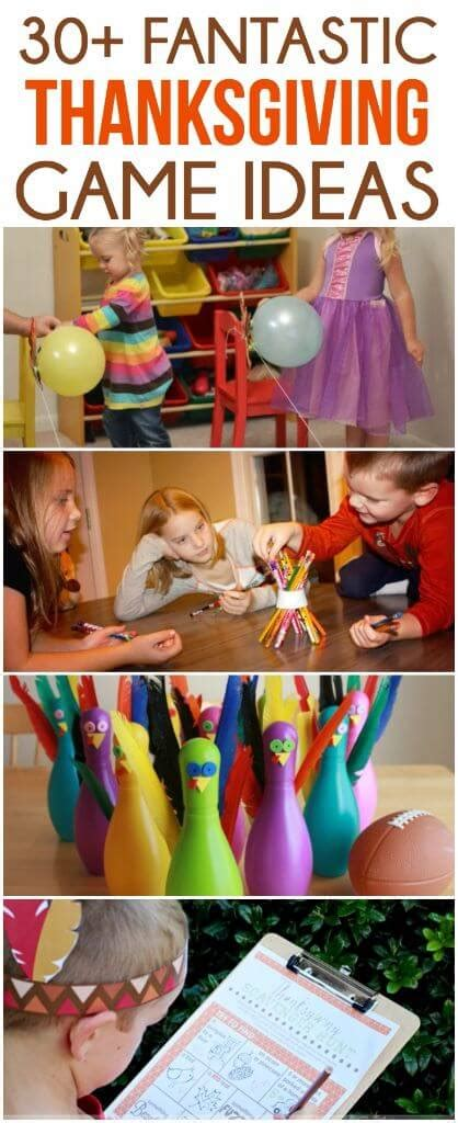 fun thanksgiving party games