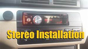 How To Install A Car Stereo    Car Deck    Head Unit