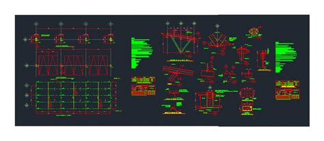 cover  galvanized plate dwg full project  autocad