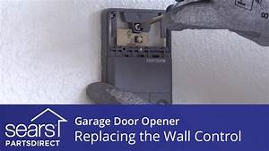 Replacing The Wall Control On A Garage Door Opener