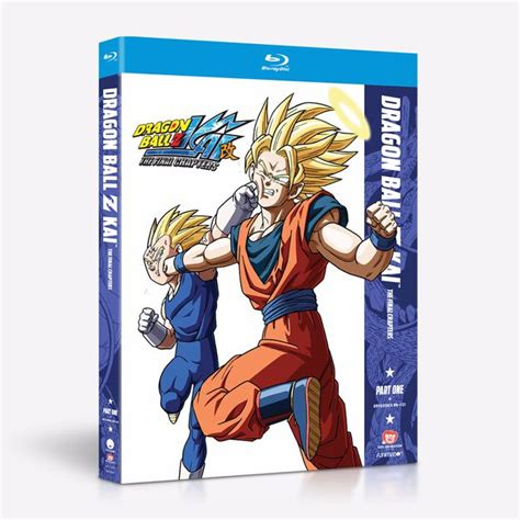 Maybe you would like to learn more about one of these? Dragon Ball Z Kai - The Final Chapter - Part One - Blu-ray ...