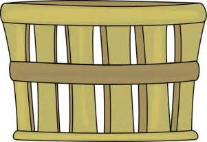 Brown Bushel Basket Clip Art