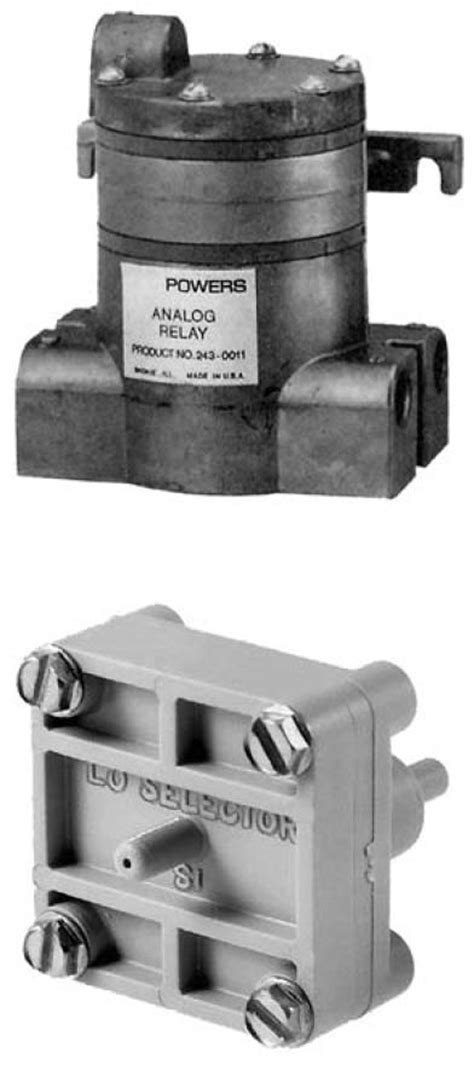 Pressure and Pneumatic Selector Switches, Pneumatic HVAC