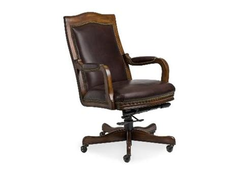 grady leather swivel tilt chair by randall allan