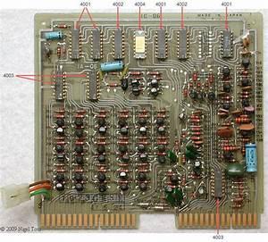 Schaltplan Intel 4004