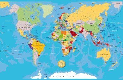 Carte Geographique Du Monde Hd by Kontinent Gallery
