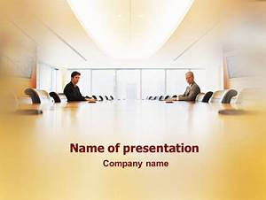 Conference Hall Negotiation Presentation Template for ...