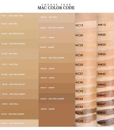 mac foundation color chart makeup artist tips glam makeup bb creams and bb