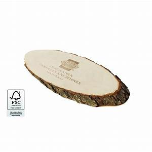 Planche De Bois Brut Avec Ecorce : planche a decouper en bois avec ecorce publicitaire ~ Melissatoandfro.com Idées de Décoration