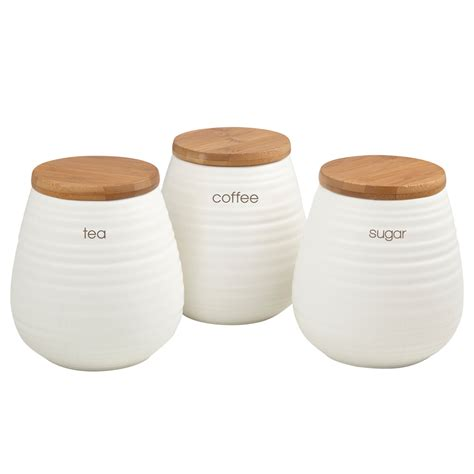 kitchen canisters ceramic ceramic kitchen storage canister set