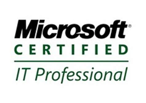 microsoft certified it professional certification details