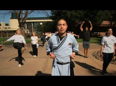 Shaolin Monks Teach Stanford Fitness Class Youtube