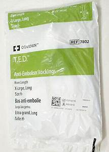 New Covidien Ted Anti Embolism Knee Length X