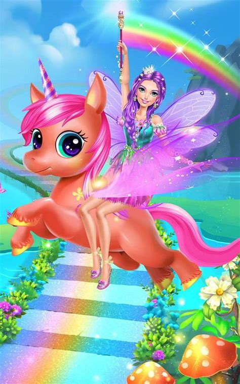 fairy princess unicorn salon  android apk