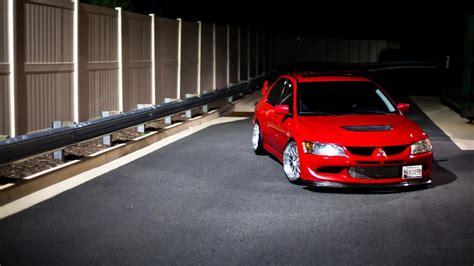 night cars mitsubishi tuning jdm drift wallpaper