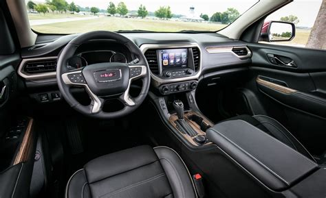 gmc acadia interior review car  driver