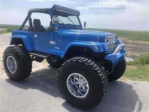 1989 Jeep Wrangler Suv Blue 4wd Manual Islander For Sale