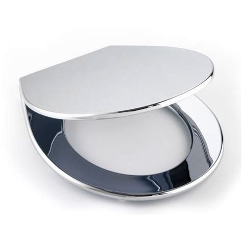 Cloakroom Suites With Vanity Unit by Wenko Prato Wc Toilet Seat Chrome 111215100 At