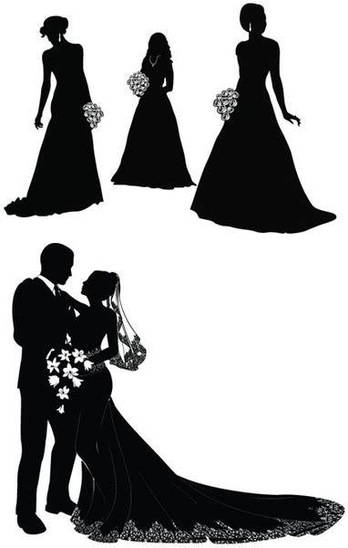 bride  groom vector  vector  encapsulated