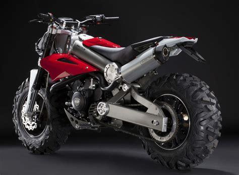 Brutus Motorcycle Is Half An Atv