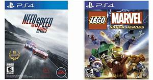 Best, Buy, Need, For, Speed, Rivals, And, Lego, Marvel, Super, Heroes, Playstation, 4, Games, Only, 14, 99