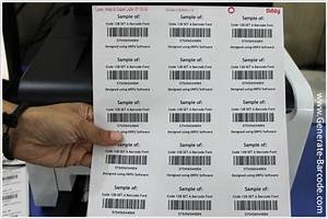 design barcode labels for industrial and shipping industry With inventory barcode labels
