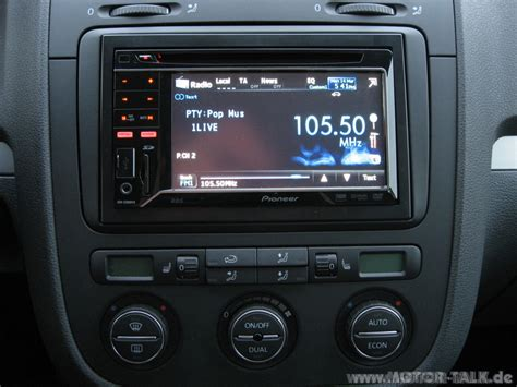 vw golf 5 radio radio pioneer golf 5 eure nachge 252 steten din 2 radios