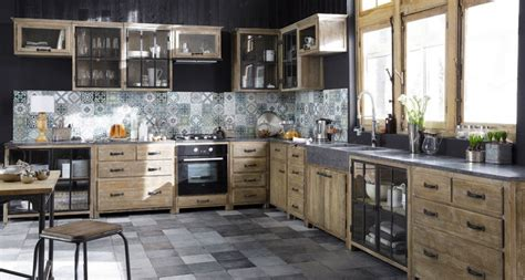 meuble de cuisine ind endant meuble de cuisine maison du monde mobilier design