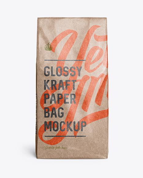 Glossy metallic snack bar mockup glossy metallic snack bar mockup 3028098 psd, all files. Kraft Paper Food Bag Mockup - Kraft Paper Food Bag Mockup ...