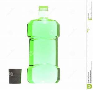 Mouthwash Bottle Stock Illustration - Image: 44373384