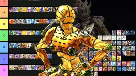 And one of the most fun parts of jojo's bizarre adventure is uncovering the mechanics of a stand… so a fair warning: JoJo Stand Tier List: Golden Wind - YouTube