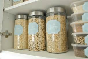 Clear Plastic Kitchen Canisters Pantry Pretty Dollar Store Pantry Makeover