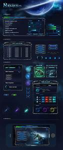 Photoshop Images Sci Fi Game Ui