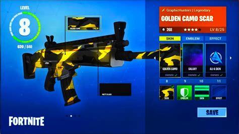 Custom Weapon Skins On Fortnite Fortnite Battle Royale