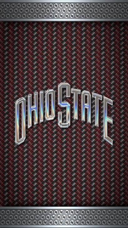 State Ohio Screen Football Lock Phone Buckeyes