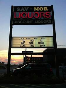 Liquor Store In Maryland Has The Funniest Signs You U0026 39 Ll See