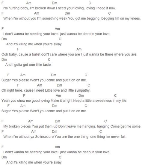 maroon 5 e chords maroon 5 and sugar on pinterest