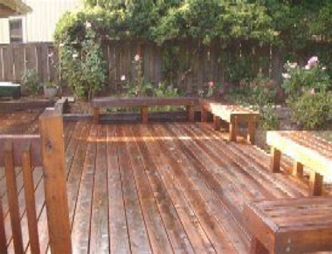 whether to stain over or strip a deck down to bare wood