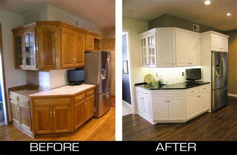 refacing oak cabinets white refinish kitchen cabinets