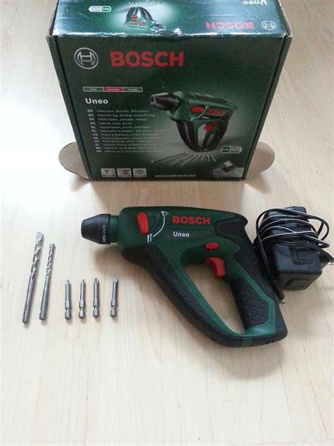 bosch akku werkzeuge bosch uneo akku bohrhammer und schrauber 14 4 v in weinstadt werkzeuge kaufen und verkaufen
