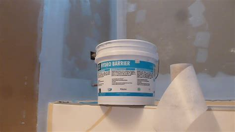 how to waterproof 60 quot tub surround walls before shower