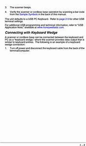 Honeywell Voyager 1200g User Manual