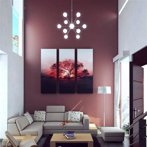 gorgeous living room wall painting colors
