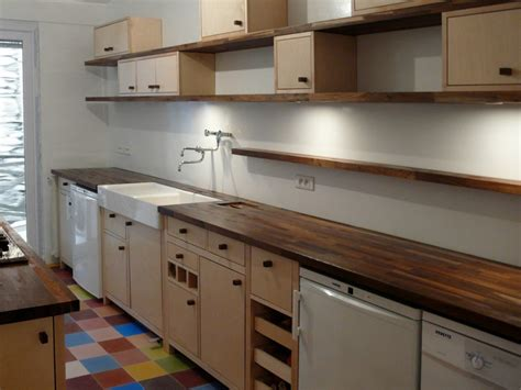 etageres pour cuisine cuisine en longueur damien jorrand l 39 atelier de design
