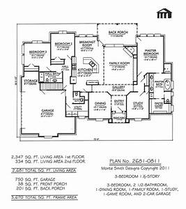 3-Bedroom One Story House Plans