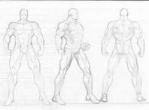 Figure Drawing Models Male | Male Figure Template ...